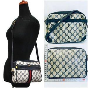 Gucci GG pattern PVC Crossbody Bag